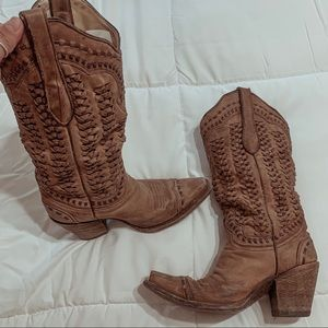 Corral braided boots